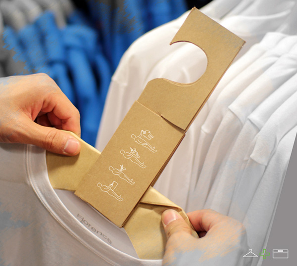 H+BAG…ถุงและไม้แขวนในชิ้นเดียวกัน