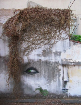 The Distorted Street Faces of Andre Muniz Gonzaga 13 - street art
