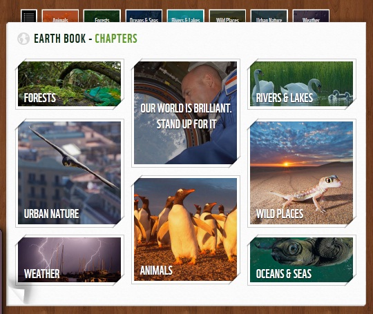 WWF Earth Book 2012 Project เฟชบุ๊คของธรรมชาติ 2 - Green project