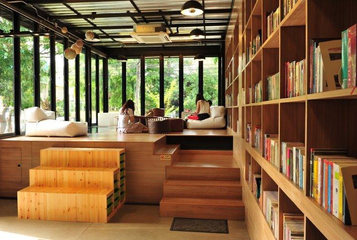 LIBRARISTA Chiang-Mai ห้องสมุดใจกลางเมืองเชียงใหม่ +พร้อมกาแฟแคปซูล 2 - Chiang-Mai