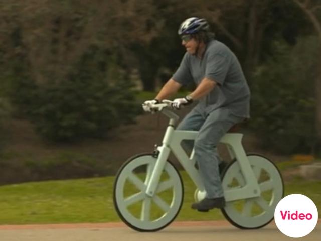 จักรยานกระดาษขี่ได้จริง  2 - cardboard