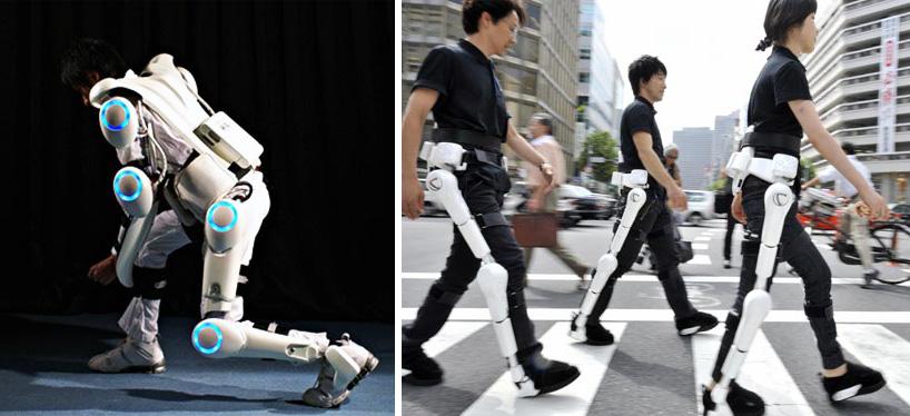 ชุดหุ่นยนต์เพื่อเป็นอุปกรณ์ในการช่วยเหลือคนพิการและคนชรา 2 - Cyberdyne Hal Robotic Exoskeleton
