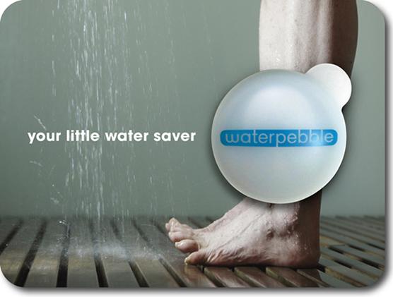 Water Pebble ผู้ช่วยประหยัดน้ำ  2 - Water Pebble