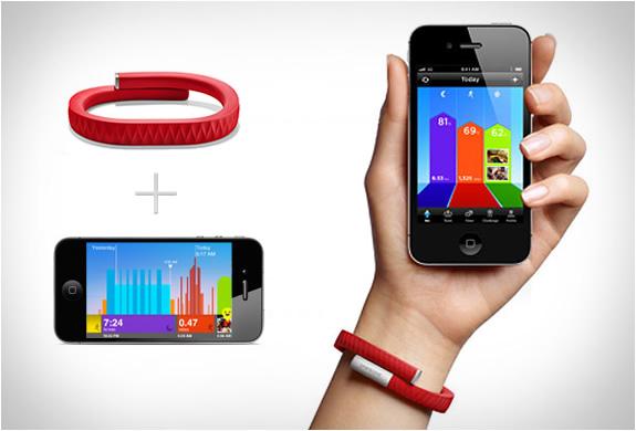 Jawbone Wristband สายสวมข้อมืออัจฉริยะ 13 - Jawbone Wristband