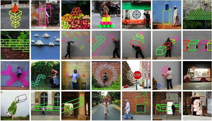 3D Tape Art Installation เทปกาวลายกราฟิก สร้างมิติที่สร้างสรรค์ 13 - New York