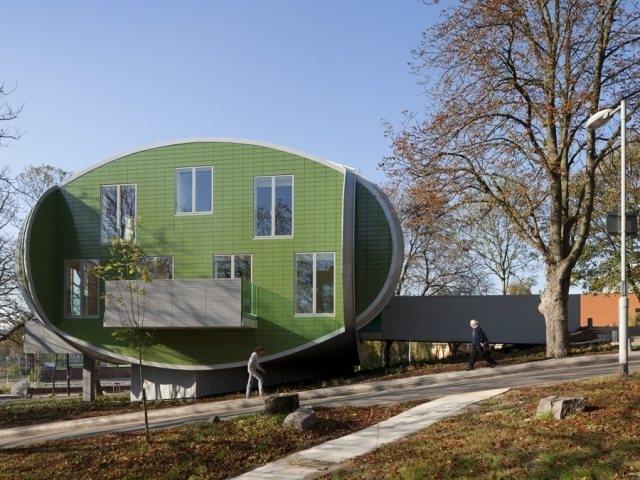 Maggie's Nottingham สถานพักฟื้นผู้ป่วยมะเร็ง 13 - Architecture