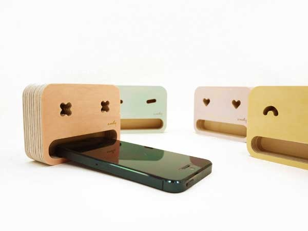 smartphone stands...หม่ำ..หม่ำ..มือถืออร่อย 2 - eco-design