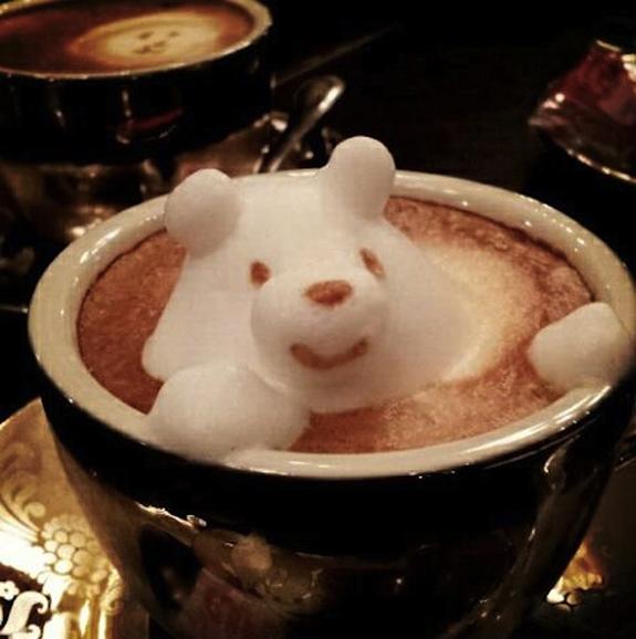 Incredible latte 3D art 13 - 3D