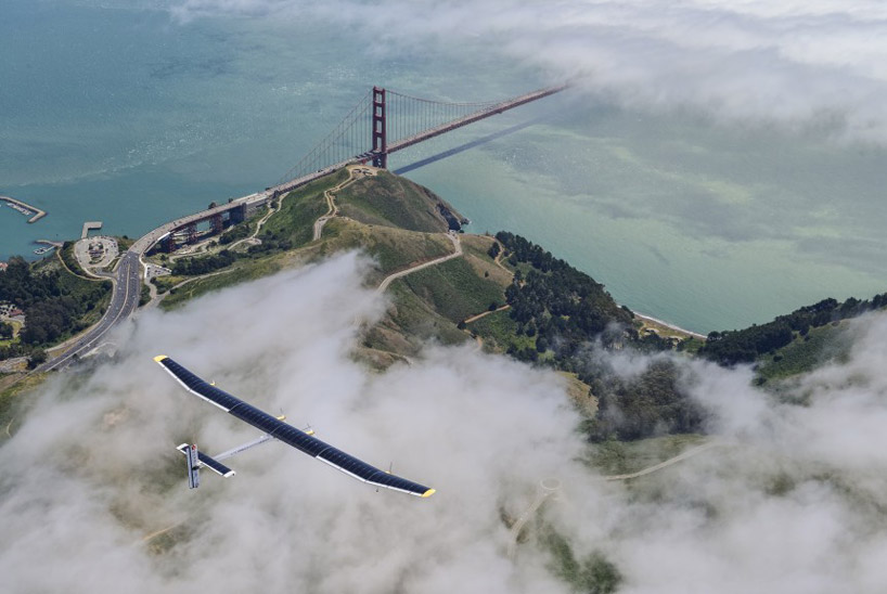 Solar powered aircraft across the USA