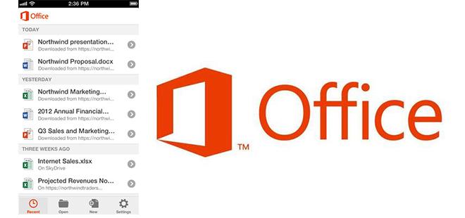 Microsoft ปล่อยแอป Microsoft Office on iOS ให้โหลดฟรี 2 - App store