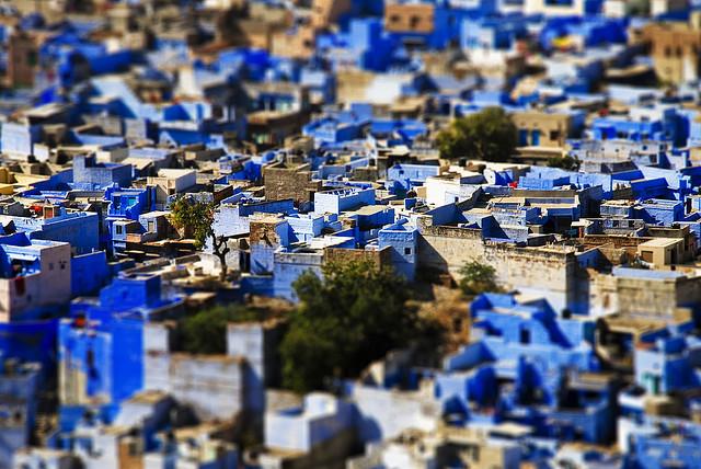"""Bule City """"เมืองสีฟ้า""""กลางทะเลทราย ในประเทศอินเดีย 13 - Bule City"""