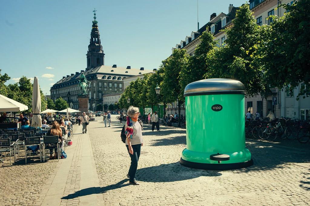 GIANT BIN TO KEEP COPENHAGEN GREEN 2 - bin