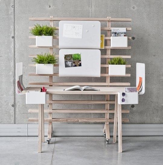 WorkNest..ชุดโต๊ะทำงาน ที่ปรับเปลี่ยนได้ตามความต้องการใช้สอยและความรู้สึก 13 - desk system