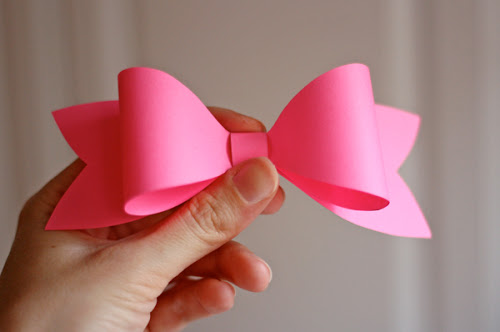 DIY.Paper bow ติดเก๋ๆบนกล่องของขวัญ 13 - Bow