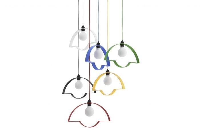 โคมไฟ 2มิติ ช่วยสร้างบรรยากาศการ์ตูนๆให้การตกแต่งภายใน 13 - Lamp