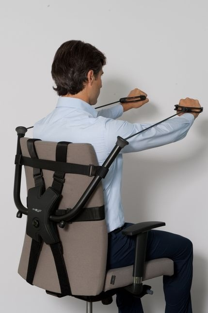 นั่งทำงานในออฟฟิศ ก็ออกกำลังกายได้ ด้วย Workout Office Chair! 13 - Office