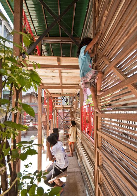 แสงสว่างเล็กๆในพื้นที่ชุมชนคลองเตย  2 - Architecture