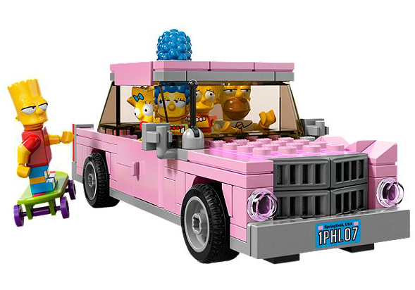 The Simpsons LEGO Set  13 - EXCLUSIVE