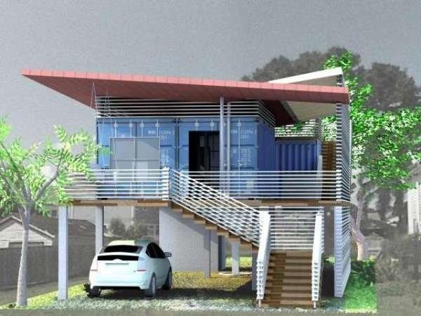 บ้านผู้สูงอายุทำจากตู้คอนเทนเนอร์ 2 - ตู้คอนเทนเนอร์