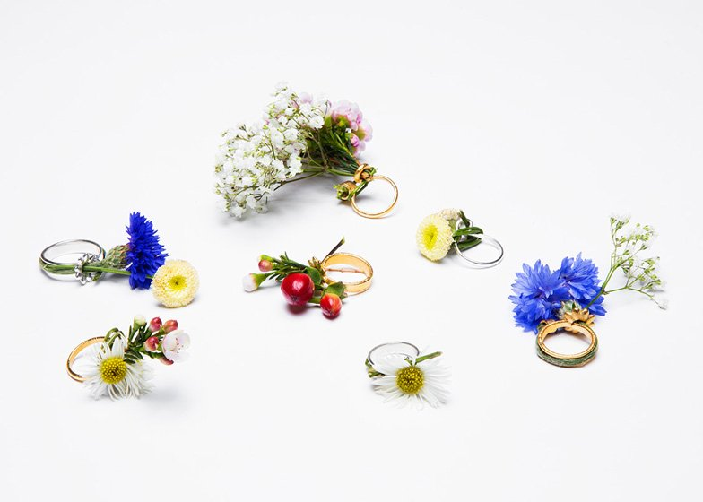 Blooming Jewelry, Spring rings by Gahee Kang 2 - Art & Design