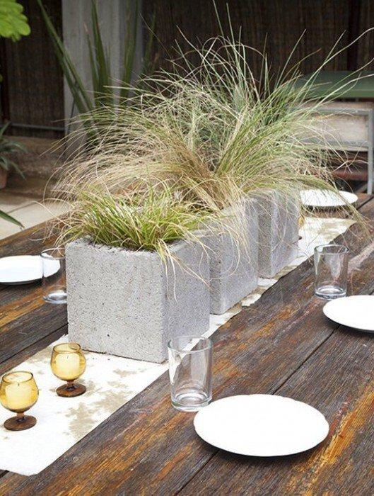 9 วิธีใช้คอนกรีตบล็อกกับสวนหลังบ้านให้ดูดี มีสไตล์ 2 - outdoor