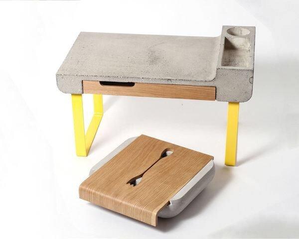 เฟอร์นิเจอร์จากคอนกรีต..หนักแน่น แต่ไม่จืดชืด.. 13 - Industrial design
