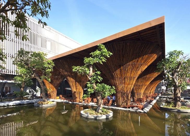 สถาปัตยกรรมจากไม้ไผ่ โดย Vo Trong Nghia Architects เป็นมิตรกับสิ่งแวดล้อม ประหยัดพลังงาน 2 - Architecture