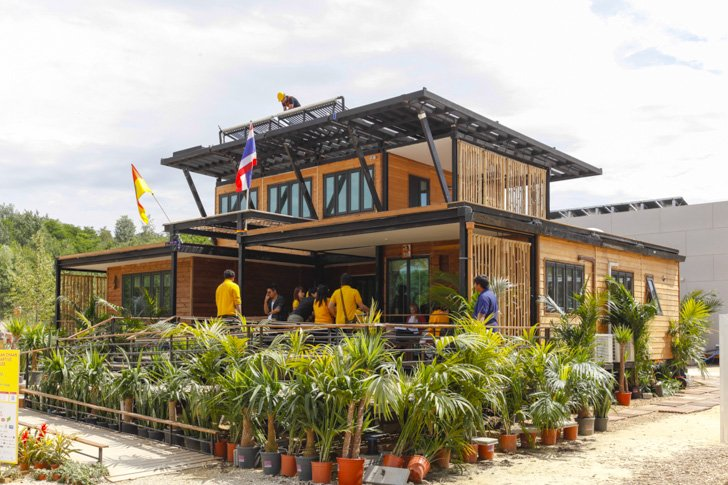 """Baan Chaan""  บ้านประหยัดพลังงาน ผลงานนักศึกษาไทยไปแข่งระดับโลก 13 - Sustainable design"