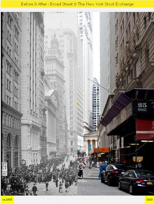 NYC- GRID Before & After ภาพถ่ายเปรียบเทียบอดีต-ปัจจุบัน 13 - ภาพถ่าย