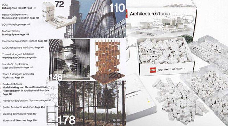 """""""เลโกสีขาว"""" ของเล่นสำหรับสถาปนิก 2 - Architecture"""