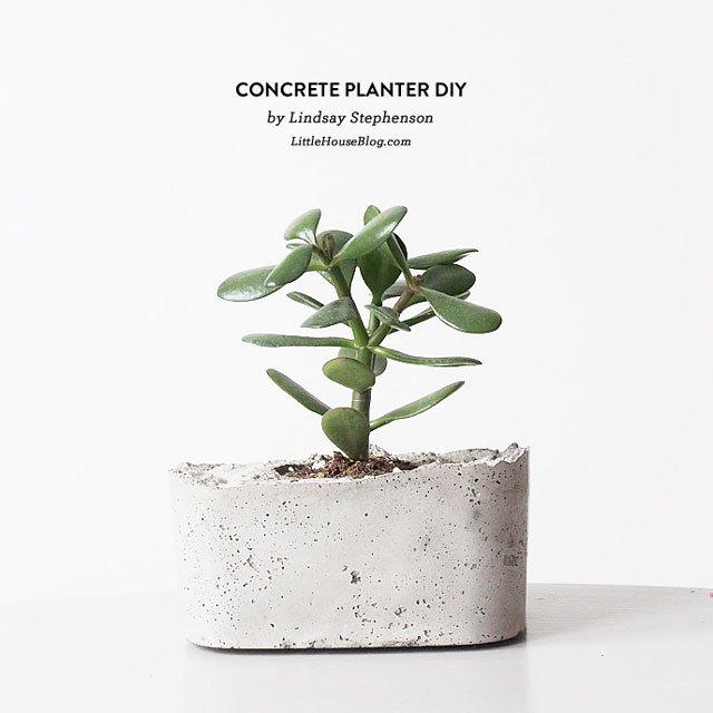 DIY ทำกระถางปูนใช้เองกันเถอะ 2 - concrete