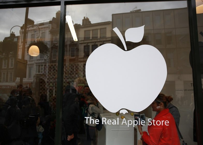 นี่สิต้นตำรับแอปเปิ้ลแท้ๆ..The Real Apple Store 2 - apple
