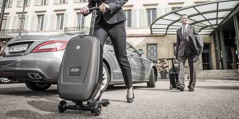 Micro Luggage Scooter กระเป๋าเดินทางด้วยระบบสกูตเตอร์ 13 - Luggage