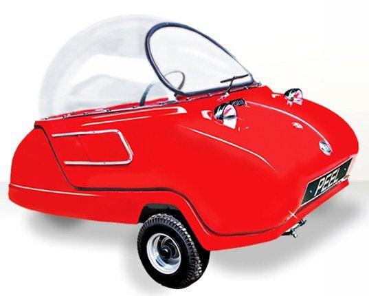 Peel P50 รถไฟฟ้าที่เล็กและน่ารักที่สุดในโลก! 2 - Car