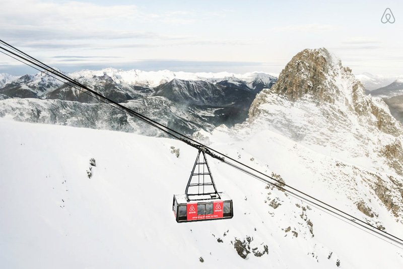 French Alps Ski Resort กระเช้าลอยฟ้ารีสอร์ท 2 - French