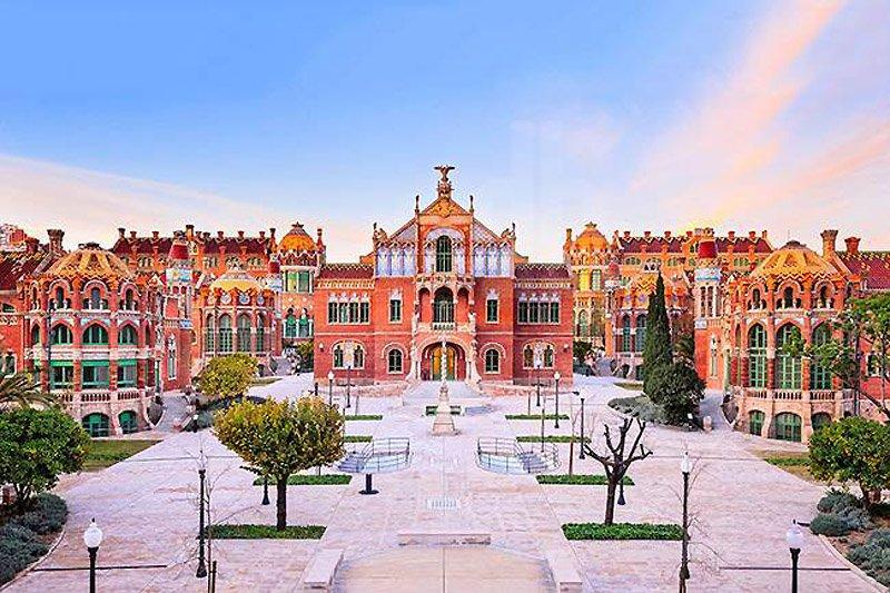 Sant Pau Hospital โรงพยาบาลแห่งเทพนิยาย 2 - Architecture