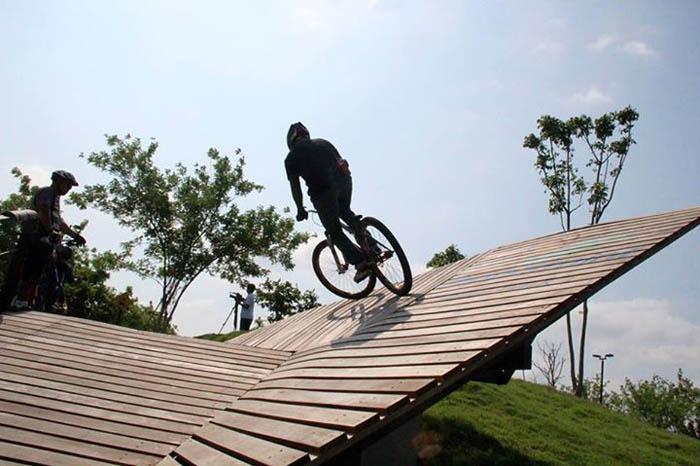 พื้นที่สำหรับนักปั่นจักรยานที่สนุก ผจญภัยและปลอดภัย Peppermint Bike Community
