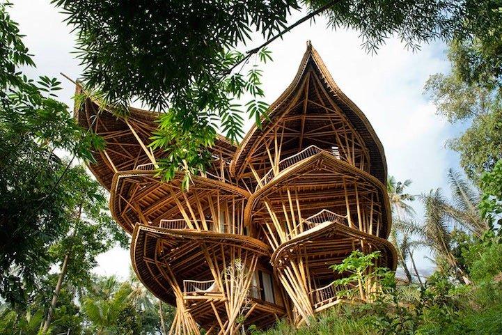 แนวคิดส่งเสริมบ้านไม้ไผ่ที่บาหลี.. ยั่งยืน สวยงาม และทนทานต่อแผ่นดินไหว 2 - bali