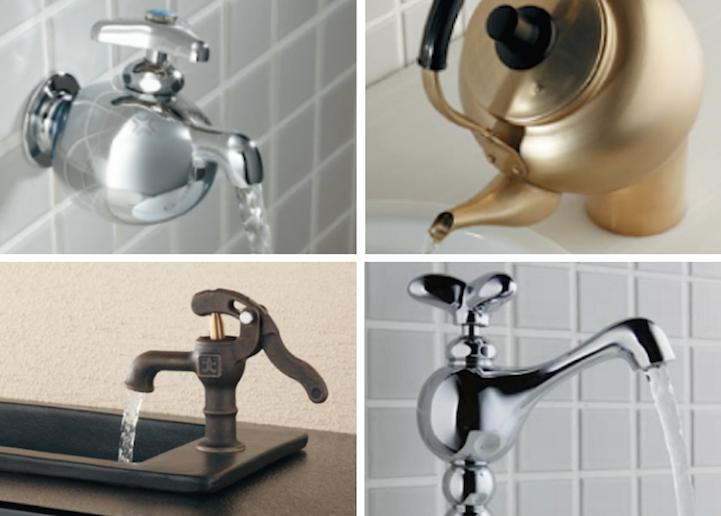 ก๊อกน้ำ ของโอซาก้า..เต็มไปด้วยความคิดสร้างสรรค์และอารมณ์ขัน 2 - faucet