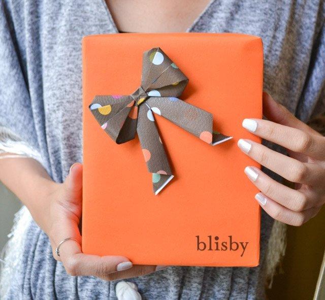 DIY : โบกระดาษ สำหรับทุกเทศกาล 13 - Bow