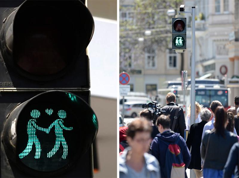 Same-Sex Couples Traffic Light สัญญาณไฟแห่งความรักร่วมเพศ 2 - austria