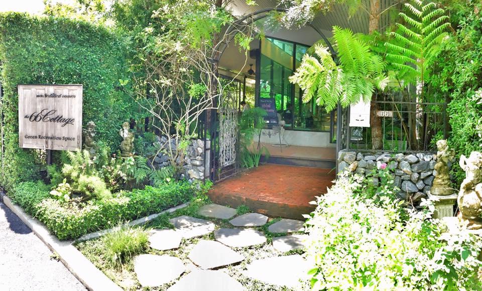 """พักกายพักใจในร้านกาแฟสีเขียว """"The 66 Cottage"""" ณ สุขุมวิท 66"""