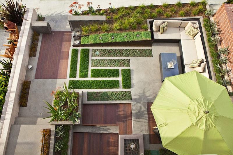 16 ไอเดียแต่งสวนหลังบ้าน ด้วยดีไซน์เนอร์ระดับโลก 13 -