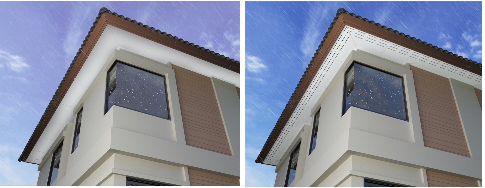 เติมเสน่ห์ให้บ้านผ่านสีสันหรือลวดลายฝ้า เพื่อสร้างลูกเล่นให้ดูไม่จำเจ 13 - ceiling