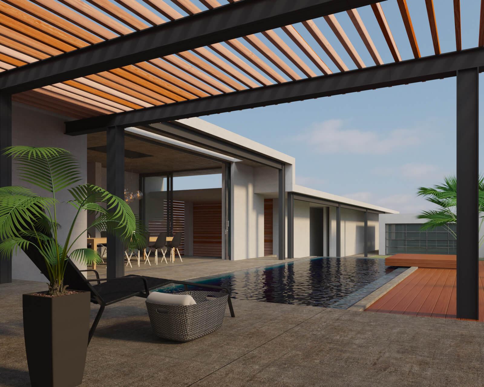 """""""เอสซีจี"""" แนะนำไอเดียเติมเสน่ห์ให้บ้านสวยใกล้ชิดธรรมชาติ  ตกแต่ง 3 พื้นที่ของบ้าน ด้วยการใช้ไม้สังเคราะห์ไฟเบอร์ซีเมนต์ 2 - SCG (เอสซีจี)"""