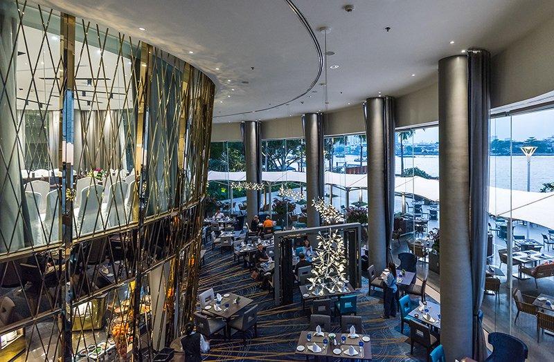 ละลานตากับบุฟเฟ่ต์นานาชาติมื้อค่ำ ณ ห้องอาหารริเวอร์บาร์จ โรงแรมชาเทรียม ริเวอร์ไซด์ กรุงเทพฯ 13 -