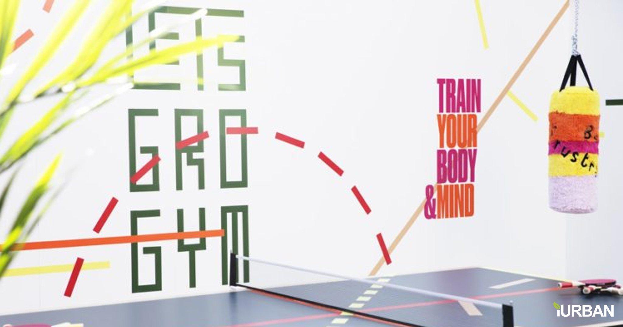 Let's Gro Gym ยิมต้นแบบเพื่อฝึกความแข็งแกร่งของร่างกายและจิตใจ 2 - Gym
