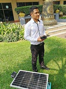 STC ผลิตรถตัดหญ้าพลังงานแสงอาทิตย์ ตอบโจทย์ผู้รักการตกแต่งสวน 13 -