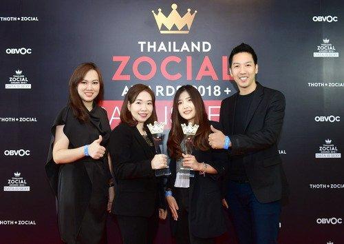 ไทยสมายล์คว้ารางวัล Best Social Media Campaign จากเวที Thailand Zocial Awards 2018 2 -