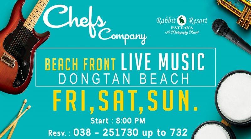 ว้าวววววววว !!! ร้านอาหาร Chefs Company (Food and Photo Gallery) โฉมใหม่ กับ Live Music บนชายหาดดงตาลพัทยา 13 -